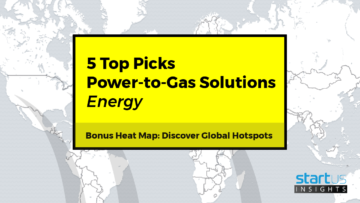 5 Top Power-to-Gas Startups Out Of 153 In Energy